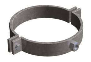 Polypipe Terrain HDPE soil and waste pipe system bracket for commercial buildings