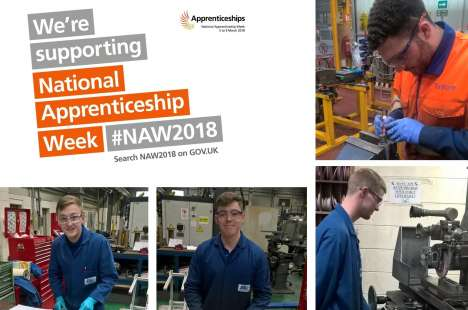 We are supporting National Apprenticeship Week #NAW18