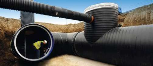 Below ground drainage systems polypipe middle east for Below ground drainage systems explained