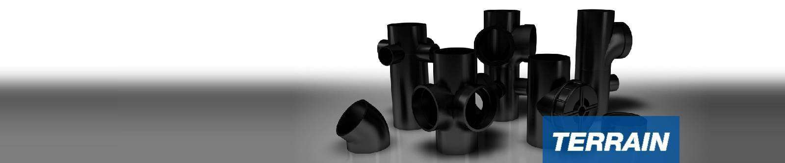 Terrain FUZE HDPE above ground soil and waste pipe drainage system for commercial buildings