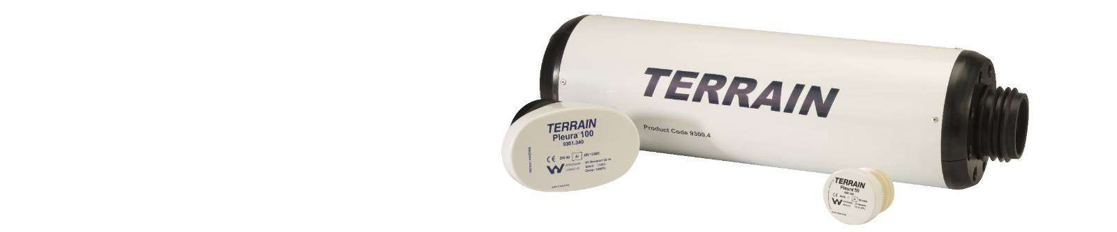 Terrain P.A.P.A® (Positive Air Pressure Attenuator) & Pleura vent system for commercial and public buildings
