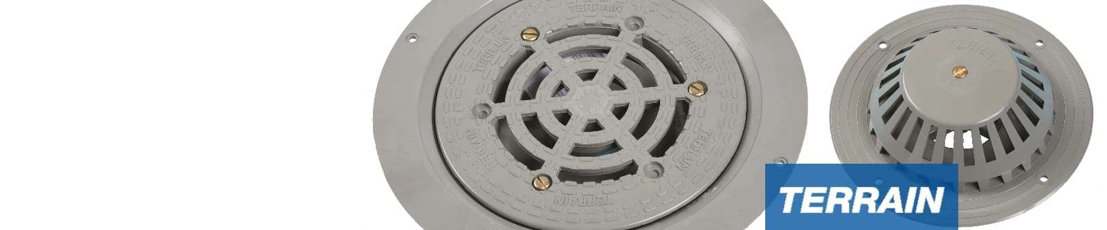 Terrain Rainwater Outlets for Commercial and Public Buildings