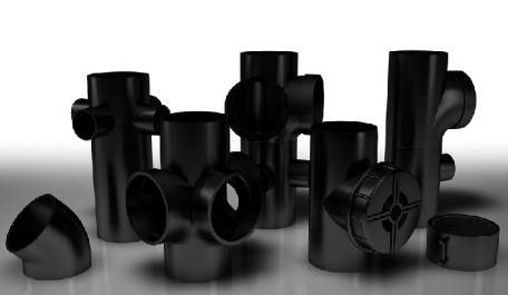 Terrain FUZE HDPE soil and waste pipe system for commercial buildings